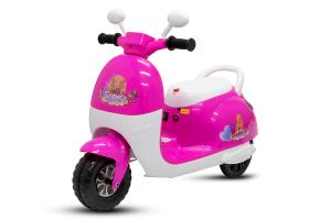 Tricicleta electrica pentru copii Princess 20W 6V #Roz0