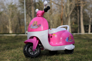 Tricicleta electrica pentru copii Princess 20W 6V #Roz3
