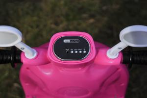 Tricicleta electrica pentru copii Princess 20W 6V #Roz5