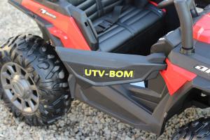UTV electric Conquiztador 4x45W 24V PREMIUM #Rosu12