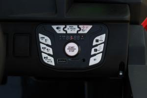 UTV electric Conquiztador 4x45W 24V PREMIUM #Rosu8