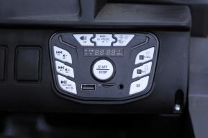 UTV electric Conquiztador 4x45W PREMIUM #Rosu10