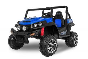UTV electric pentru 2 copii Golf-Kart 210W 24V PREMIUM #Albastru0