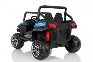 UTV electric pentru 2 copii Golf-Kart 210W 24V PREMIUM #Albastru1