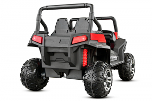 UTV electric pentru 2 copii Golf-Kart 210W 24V PREMIUM #Rosu5