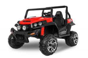 UTV electric pentru 2 copii Golf-Kart 210W 24V PREMIUM #Rosu0