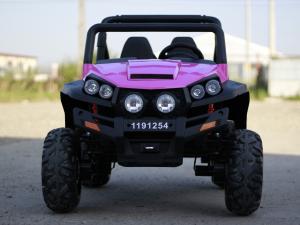 UTV electric pentru copii Golf-Kart 4x45W 2x12V PREMIUM #Roz9