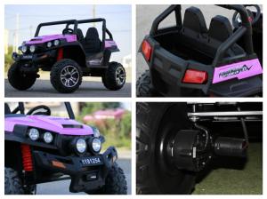 UTV electric pentru copii Golf-Kart 4x45W 2x12V PREMIUM #Roz7