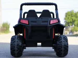UTV electric pentru 2 copii Golf-Kart 210W 24V PREMIUM #Roz5