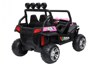 UTV electric pentru copii Golf-Kart S2588 180W PREMIUM #Roz3