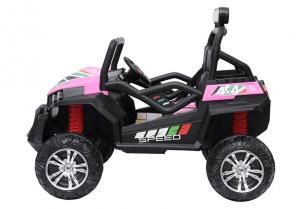 UTV electric pentru copii Golf-Kart S2588 180W PREMIUM #Roz4