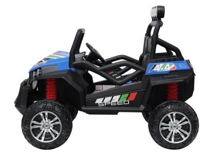 UTV electric pentru copii Golf-Kart S2588 180W PREMIUM #Albastru [5]