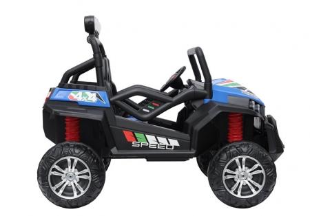UTV electric pentru copii Golf-Kart S2588 180W PREMIUM #Albastru [7]