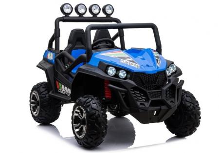 UTV electric pentru copii Golf-Kart S2588 180W PREMIUM #Albastru [0]