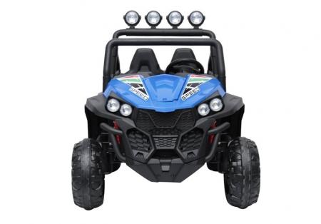 UTV electric pentru copii Golf-Kart S2588 180W PREMIUM #Albastru [4]