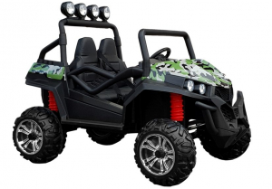UTV electric pentru copii Golf-Kart S2588 180W PREMIUM #Verde0
