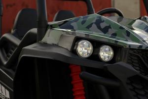 UTV electric pentru copii Golf-Kart S2588 180W PREMIUM #Verde14