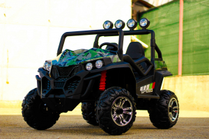 UTV electric pentru copii Golf-Kart S2588 180W PREMIUM #Verde2