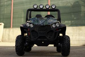 UTV electric pentru copii Golf-Kart S2588 180W PREMIUM #Verde1