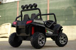 UTV electric pentru copii Golf-Kart S2588 180W PREMIUM #Verde4