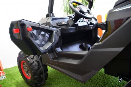 UTV electric Rocker Premium BJ603, 4x4 140W 12V #Negru [11]
