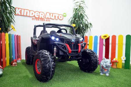 UTV electric Rocker Premium BJ603, 4x4 140W 12V #Negru [2]