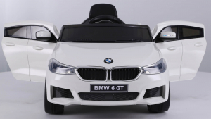 Masinuta electrica Bmw Seria 6 GT 60W 12V STANDARD #ALB [4]