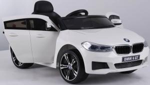Masinuta electrica Bmw Seria 6 GT 60W 12V STANDARD #ALB [5]