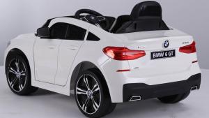 Masinuta electrica Bmw Seria 6 GT 60W 12V STANDARD #ALB [2]