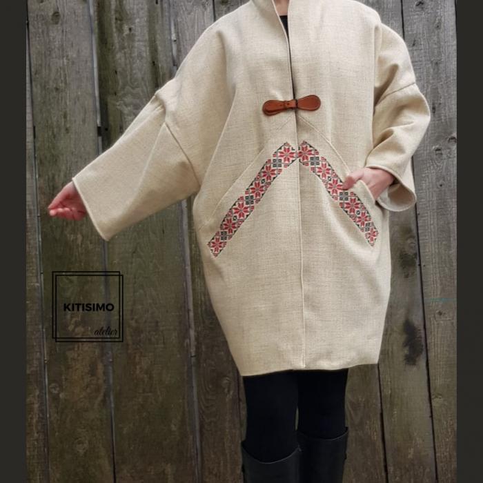 Palton din lana-model unicat [1]