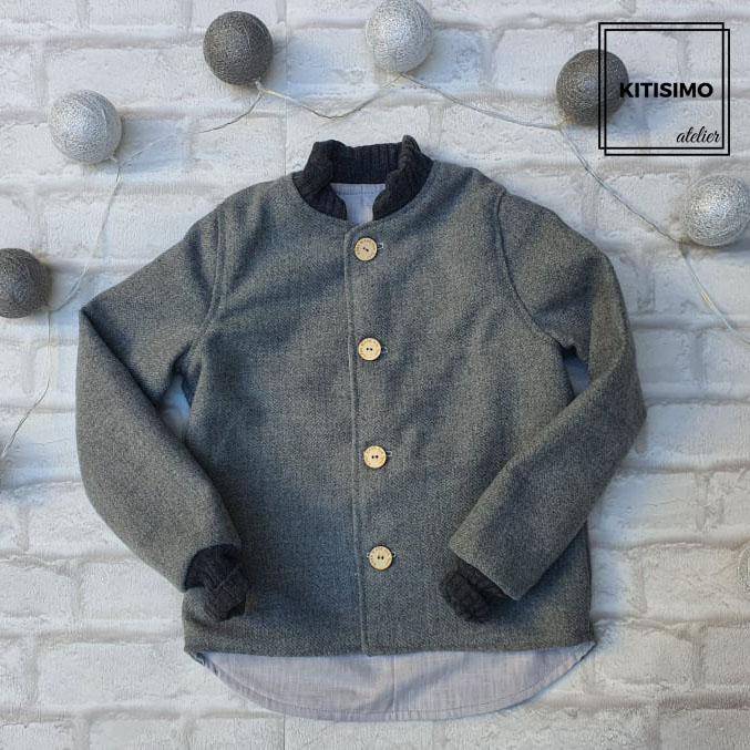 Jacheta din lana [0]