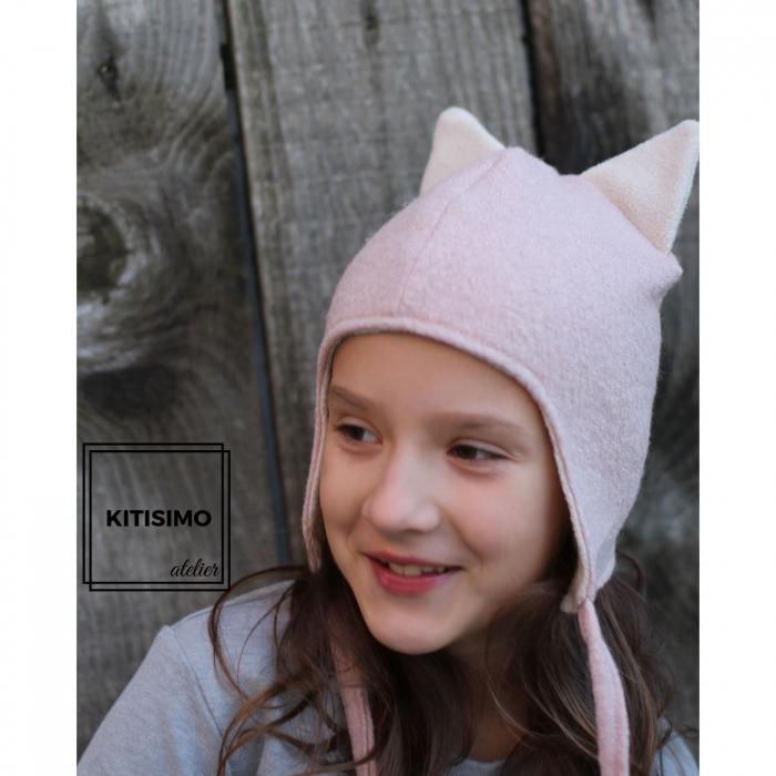 Caciula pink cat [0]
