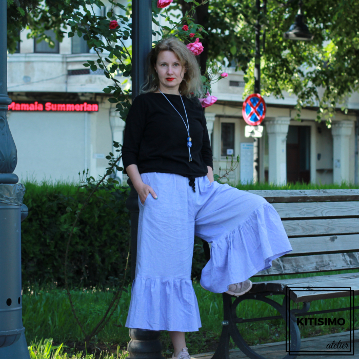 Straie, Fusta pantalon [1]