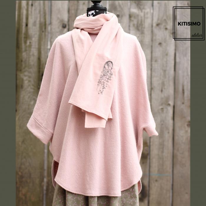 Poncho pretty in pink [1]