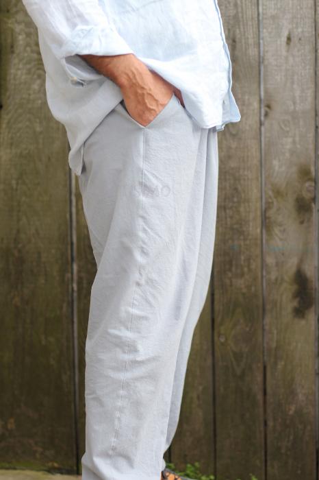 Pantaloni din panza topita pentru barbati [1]