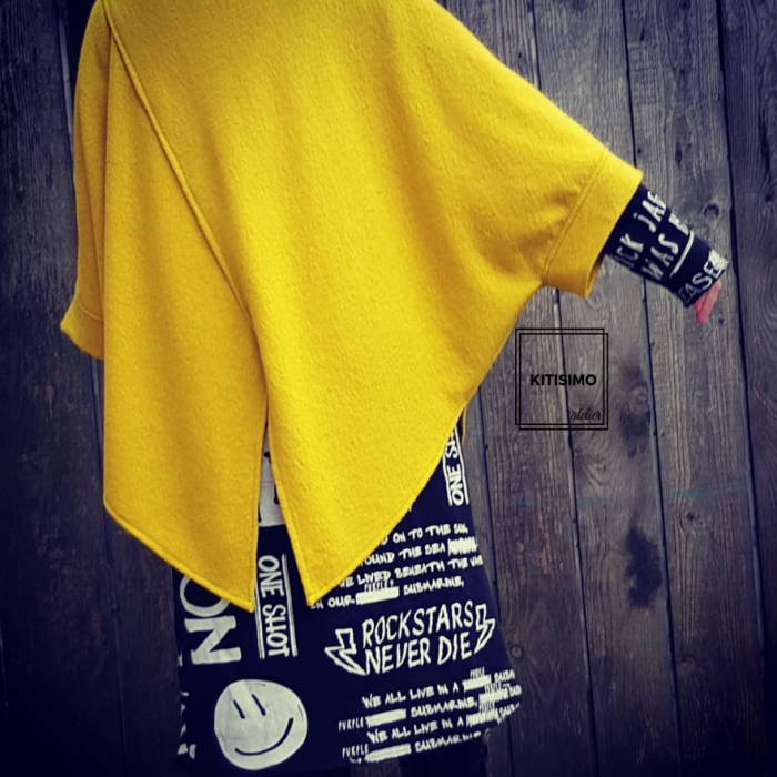 Poncho pretty in yellow [0]