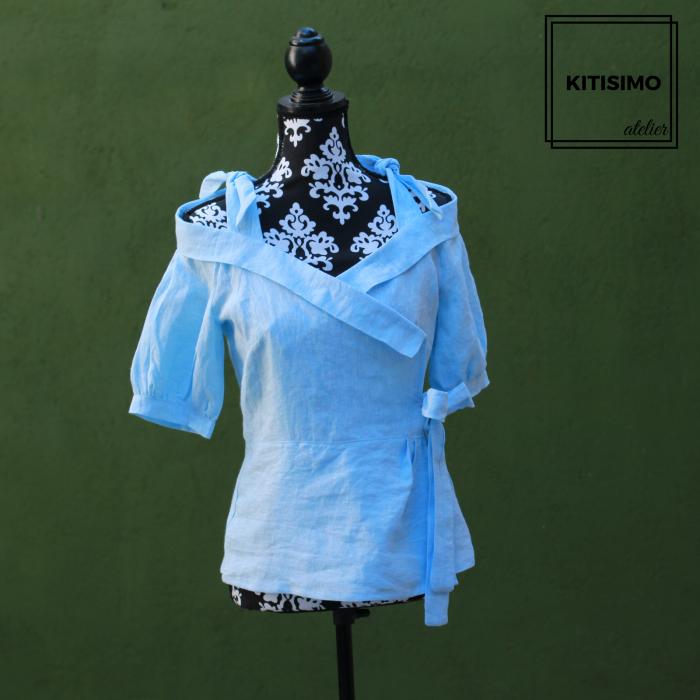 Straie, Bluza Romantic Blue, In [0]