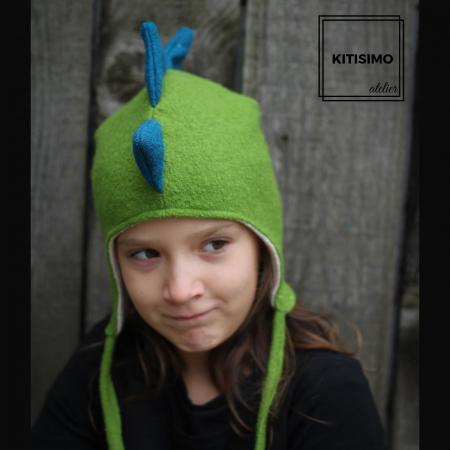 Caciula green dino [0]