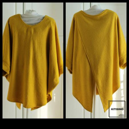 Poncho pretty in yellow [1]