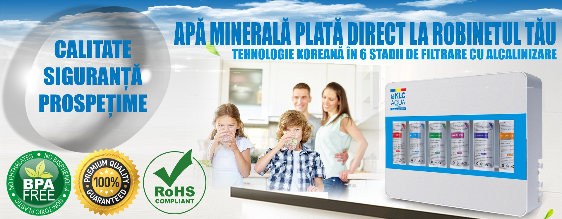 Apa minerala plata direct la robinetul tau