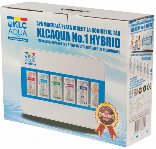 Sistem de ultrafiltrare KLCAQUA No.1 HYBRYD 0,01 microni in 6 stadii de filtrare cu alcalinizare 1