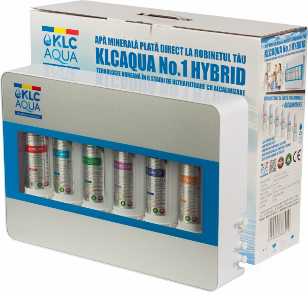 Sistem de ultrafiltrare KLCAQUA No.1 HYBRYD 0,01 microni in 6 stadii de filtrare cu alcalinizare 2