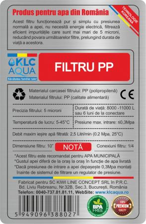 FILTRU PP KLCAQUA NO.1 HYBRID1