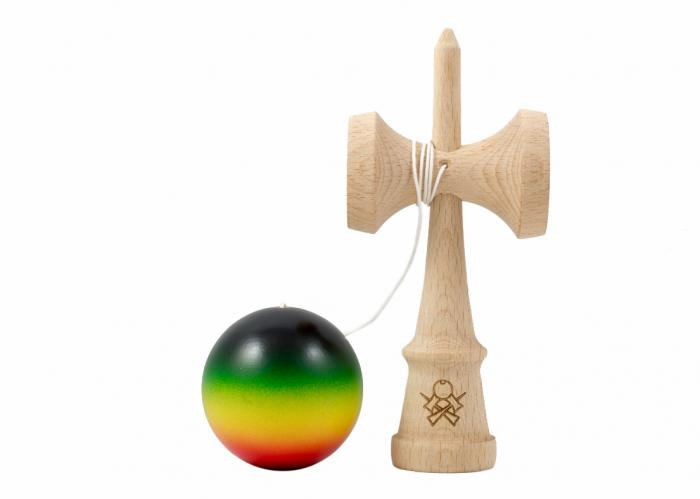 KENDAMA SWEETS PRIME CUSTOM – MIDNIGHT RASTA – ATACK 1