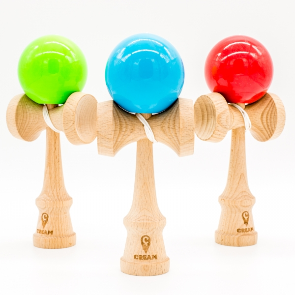 KENDAMA CREAM STICKY BLUE 3
