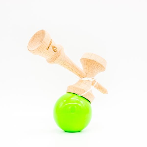 KENDAMA CREAM STICKY GREEN 2