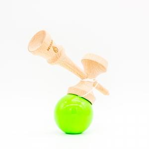KENDAMA CREAM STICKY GREEN2
