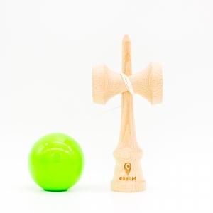 KENDAMA CREAM STICKY GREEN1