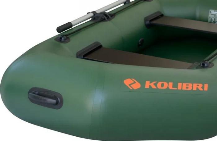 Barca Pneumatica KOLIBRI K-220TS + podină pliabilă semirigidă 9