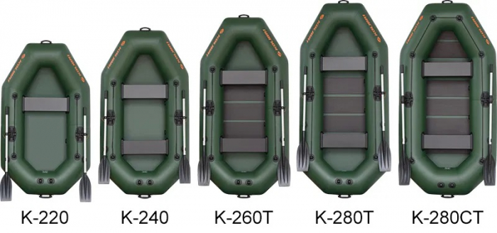 Barca Pneumatica KOLIBRI K-220TS + podină Tego [5]